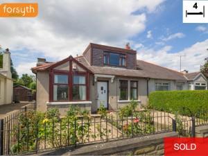 SOLD 5 Stevenson Road Balgreen Edinburgh EH11 2SP Forsyth Solicitors Estate Agents