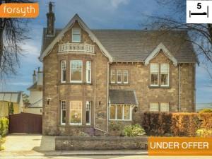 UNDER OFFER Simla Lodge 20 Station Road Haddington EH41 3RA Forsyth Solicitors Estate Agents