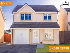UNDER OFFER 4 Chesterhall Avenue Macmerry EH33 1QJ Forsyth Solicitors Estate Agents